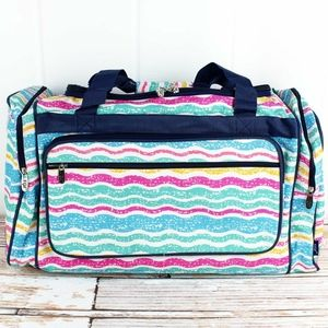 Sunny Squiggles 23 inch Duffle Bag